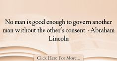Abraham Lincoln Quotes About Government - 29726