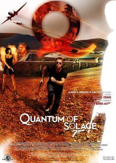'Quantum of Solace' - Poster 7 James Bond Movie Posters, James Bond Movies, Rory Kinnear, Daniel Craig James Bond, Best Bond, Movies Worth Watching, Film Base, Movie Tv, Movie Props