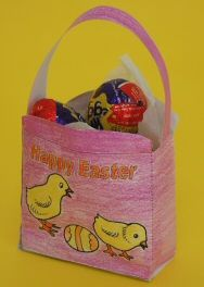 Free Printable Easter Basket to color