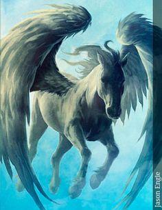 Pegaso - Seres Mitológicos y Fantásticos