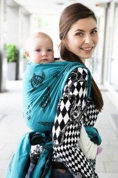 paxbaby, kokadi, glamour stars, woven wrap, ring sling, babywearing