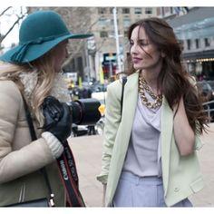 New York Fashion Week Street Style Fall 2012 – Fall Fashion Week Street Style - Marie Claire