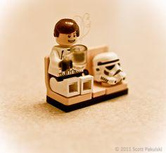 Lego Star Wars storm trooper coffee break