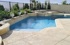 Pool Photos | Geometric Pools | Angular Pools | Blue Haven Pools