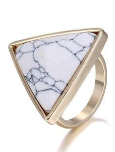 Faux anillo Triángulo Rammel
