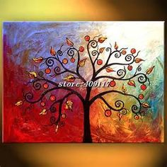 simple tree wall art - Bing Images