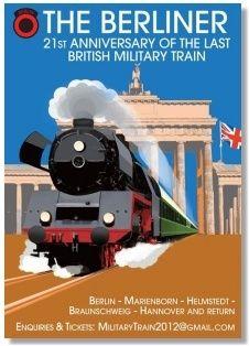 The Berliner - 21st anniversary of the last British Military Train