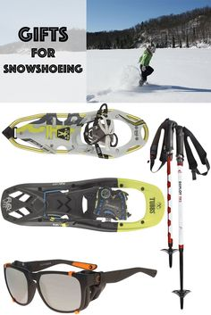 Holiday Gift Ideas for Snowshoers. #snowshoeing #snowshoes #giftideas #holidaygiftguide
