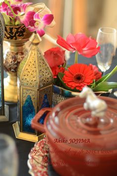 2015.1 morocco&arab cooking school table setting