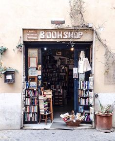 The bookshop I plan to open someday <3