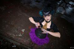 Pahanukke (Evil Doll), the Horror Circus photo shoot. Photo: Outi Puhakka 2015
