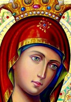 Religious Pictures, Religious Icons, Religious Art, Blessed Mother Mary, Blessed Virgin Mary, Scripture Art, Bible Art, Religion Catolica, Queen Of Heaven