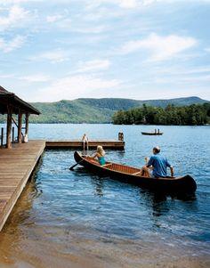Adirondacks Summer Lake House - Country Living