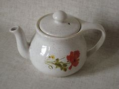 Kernewek Cornish Pottery One Person Teapot by TheKnally on Etsy
