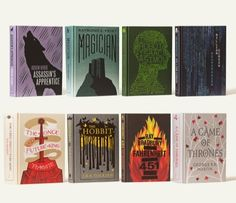 HarperCollins Releases Illustrated Cloth-Bound Covers For Classic Books - DesignTAXI.com
