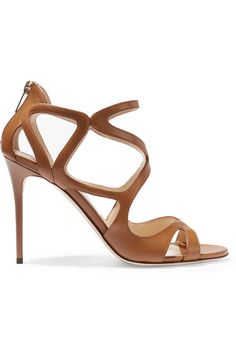 ccf15942cf84 Jimmy Choo - Leslie leather sandals