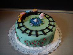 Vonatos torta..