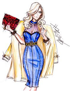 Hayden Williams Fashion Illustrations: Perfectly Polished by Hayden Williams