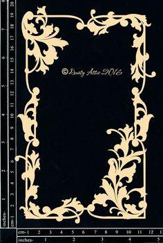 The Dusty Attic - DA1576 Ornate Frame #7