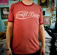 We are the 13% of beer drinkers who still prefer the taste and smell of craft and micro brews to domestic or imported beer. Wear this shirt proudly and let the world know that craft beer is not a fad! It's a simple life choice. Craft Beer, Brewing, Home Brewing
