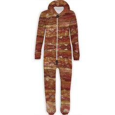 and if you love Bacon! .....Bacon Belovesie Hooded Jumpsuit
