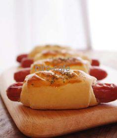発酵いらずウィンナーロールパン♪   美肌レシピ