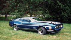 1971 Ford Mustang Mach 1 Fastback 351 CI, Automatic presented as lot G131 at Indianapolis, IN 2015 - image10