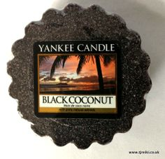 Yankee Candle Black Coconut Wax Tart
