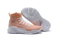f9e1b4c46ae 2018 Cheap UA Under Armour Curry 4 Flushed Pink All Star pink Jordan Shoes  For Sale