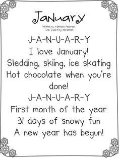 !¡ January...