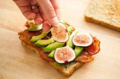 It's fig season! Celebrate with this Fig Avocado Bacon Sandwich.