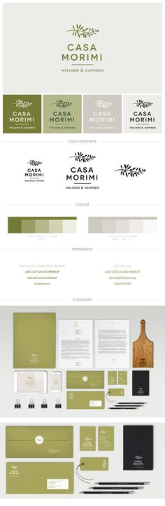 Branding - Casa Morimi on Behance