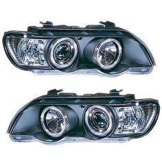 How to reset your oil service light 97 03 bmw 5 series e39 528i e46 bmw to these headlights have 2 angel eye rings a single projector main beam lens standard high beam lens and an integrated indicator in each unit fandeluxe Image collections