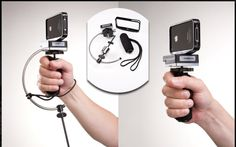 Turn your iPhone 4 into a professional steady cam with the SteadyPhone from www.SteadyWonder.com #iphone #video #iphoneography #accesories #photography