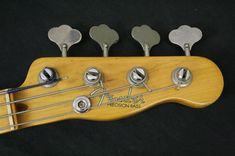 1952 PRECISION BASS 0353 - FENDER PRECISION BASSES: THE FIRST GENERATION