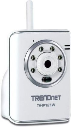 TRENDnet SecurView Wireless Day/Night Internet Surveillance Camera TV-IP121W (White) by TRENDnet. $98.95. From the Manufacturer                 Compare All TrendNet SecurView Internet Cameras                                     Product Description                The SecurView Wireless Day/Night Internet Camera (model TV-IP121W) transmits real-time high quality video over the Internet. See and hear people in your camera's viewing field in complete darkness for distances up to ...