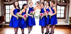 Madrinhas de Casamento com cores iguais