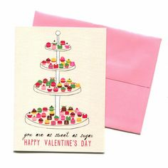 Sweet as Sugar Card - Mr. Boddington's Studio