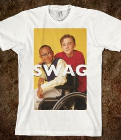 Swag In The Middle- i want this shirt