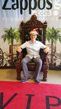 The King of all Kings! #zappos