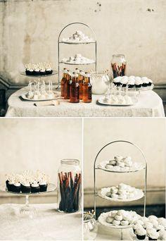 Bridal shower DIY dessert table