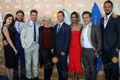 "Actress Molly Gordon, actor Jake Weary, actor Scott Speedman, actress Ellen Barkin, actor Shawn Hatosy, actress Daniella Alonso, actor Finn Cole and actor Ben Robson at the ""Animal Kingdom"" Premiere Screening, The Rose Room, Venice Beach, CA 06-08-16"