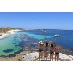 Leaving for Melbourne in about an hour.  Had such an amazing time in Perth with @frenchyrafiki @clopolotus @charlotte_marie_anna and @blake_leyshon !  #maudtravels #MaudgoestoMelbourne #byePerth #rottnestisland #girls #friends #copinesOZ #amazing #beautiful #summer #travel #voyage #australia by maudlestavel http://ift.tt/1L5GqLp