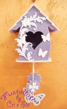 Kit Casetta Uccellini con farfalline, by Fustellati, 6,50 € su misshobby.com