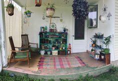 #hippiehut #diyshelf #diycrystalhanging #plants #outdoorpatio #patiodecor