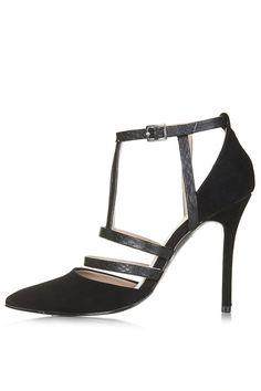 GENEVA Strappy Court Shoes - Topshop