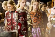 Valentino Spring 2015 RTW – Backstage for more fashion and beauty advise check out The London Lifestylist http://www.thelondonlifestylist.com