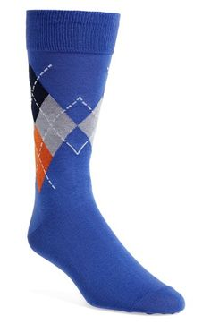 Cole Haan 'Stitch 4' Argyle Socks (3 for $27) available at #Nordstrom