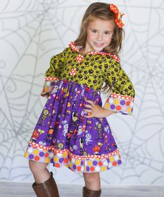 Another great find on #zulily! Monster Bash Hannah Dress - Infant, Toddler & Girls #zulilyfinds