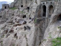 Vardezia cave city, Georgia | 27 Absolutely Stunning Underground Homes.